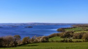 Lookout at lough derg, portroe