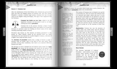 common law - teresa clyne
